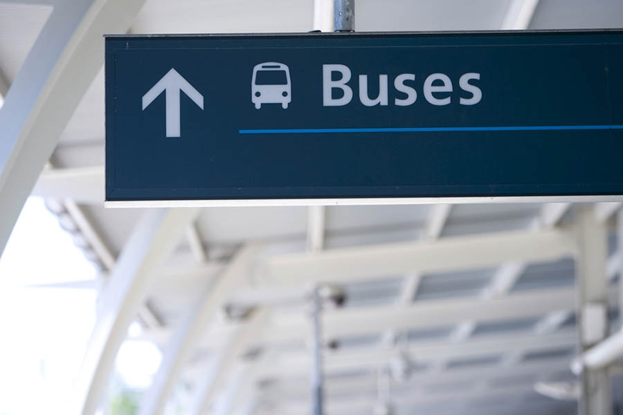 Bus sign image
